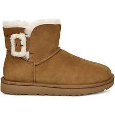Image of UGG CHESTNUT MINI BAILEY FLUFF BUCKLE