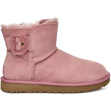 Image of UGG PINK DAWN MINI BAILEY FLUFF BUCKLE