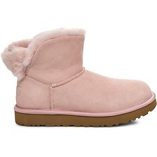 Image of UGG PINK CRYSTAL CLASSIC BLING MINI