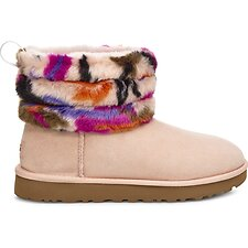 Image of UGG MOTLEE MULTI FLUFF MINI QUILTED