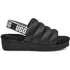 Image of UGG BLACK PUFF YEAH