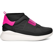 Image of UGG BLACK/NEON PINK NEUTRA NEON
