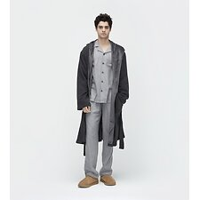 Image of UGG BLACK BEAR HEATHER BRUNSWICK ROBE