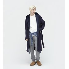 Image of UGG NAVY BRUNSWICK ROBE