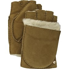 Image of UGG CHESTNUT FINGERLESS FLIP MITTEN