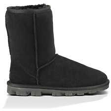 Image of UGG BLACK ESSENTIAL SHORT