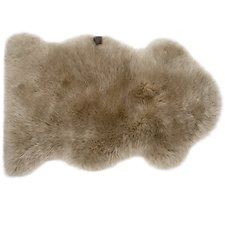 Image of UGG SAND SHEEPSKIN AREA RUG SINGLE